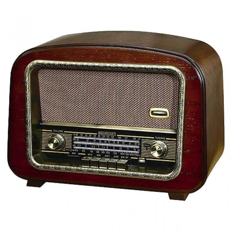 RADIO RETRO AM/FM/SW+MP3 USB/SD 71742