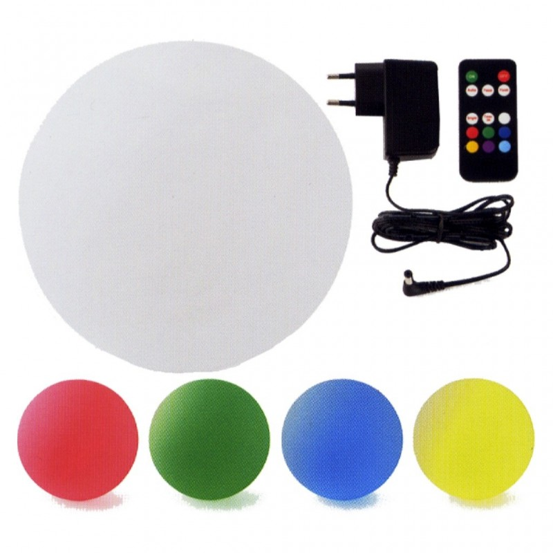 BOLA RGB 48 LED BALL-30 RECARG