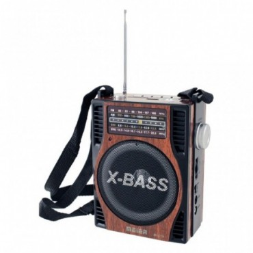 RADIO LINTERNA RETRO AM/FM/SW1/SW2 MP3 USB/SD/MMC MU-19