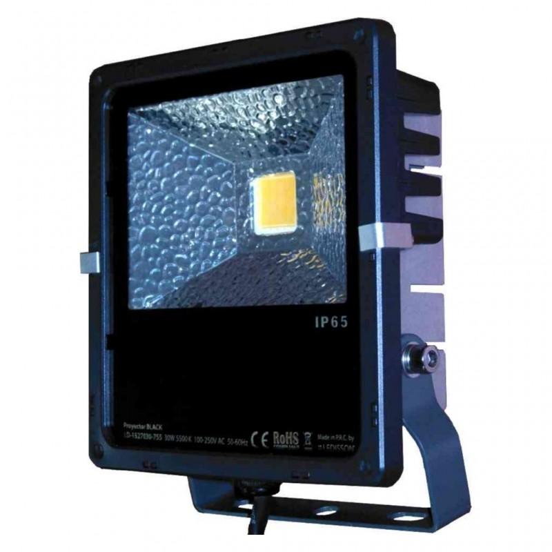 FOCO LED 50W. PB-250 NEGRO 24V.DC
