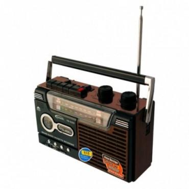RADIO CASSETTE RETRO AM/FM/SW1/SW2 MP3 USB/SD/MMC YG-335-U