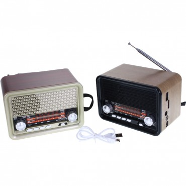 RADIO RETRO ORLEANS AM/FM/SW/MP3 USB/TF RO-8155