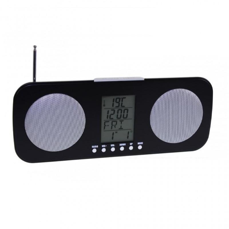 DESPERTADOR RADIO RELOJ CON ALTAVOCES RM-4662